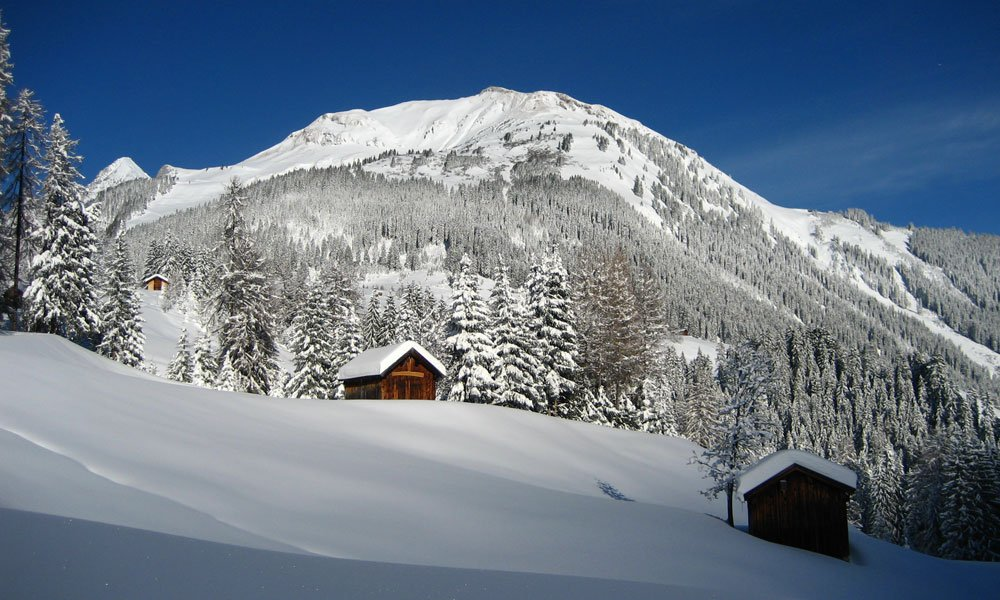 Holzgau, Winter