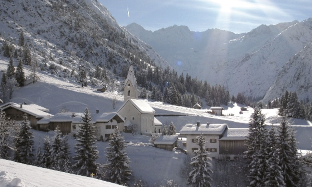 [Translate to en:] Gramais - Lechtal Winterurlaub